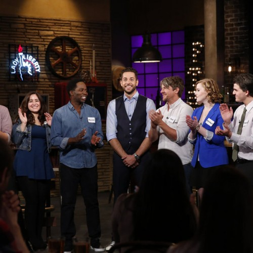 Harold Perrineau and Zachary Knighton featured on this week's Geeks Who Drink!