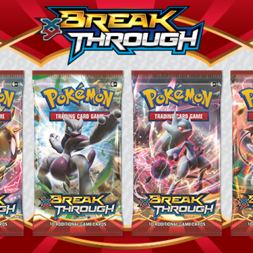 Pokémon TCG: XY-BREAKthrough arrives November 4 with new evolution mode