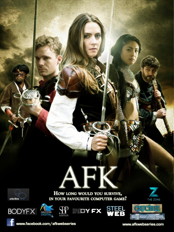 afk Zone Poster HD