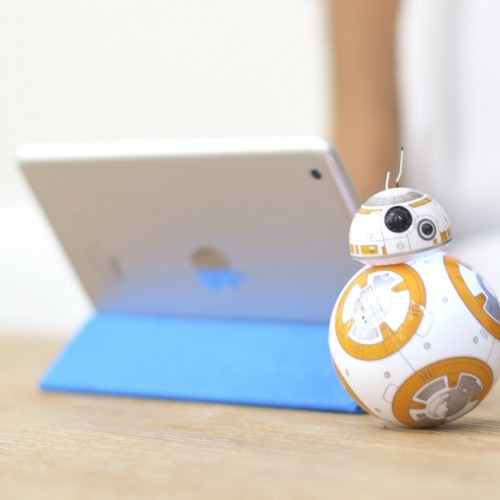 See the Star Wars BB-8 toy in action, plus it'll cost you $149.99
