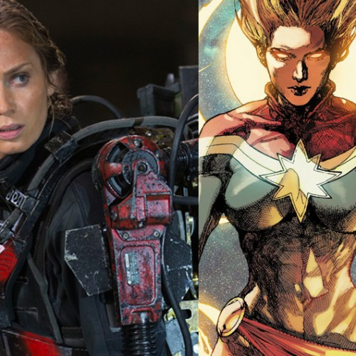 Emily Blunt says Marvel hasn't contacted her about Captain Marvel