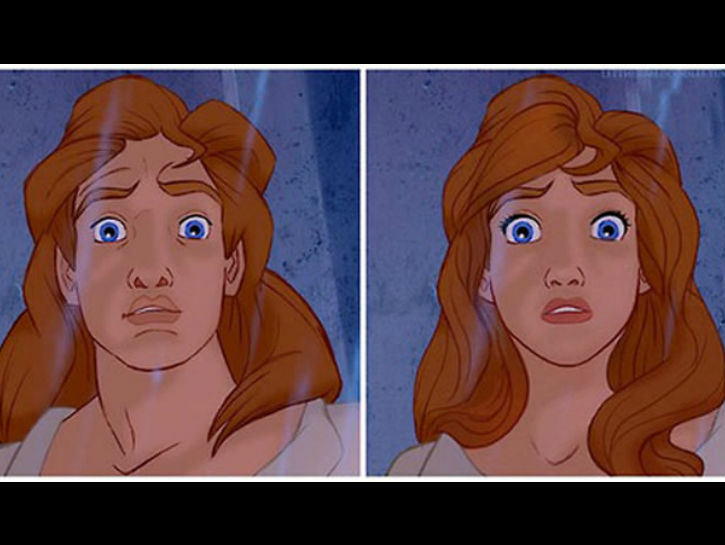 disney gender - beauty and the beast