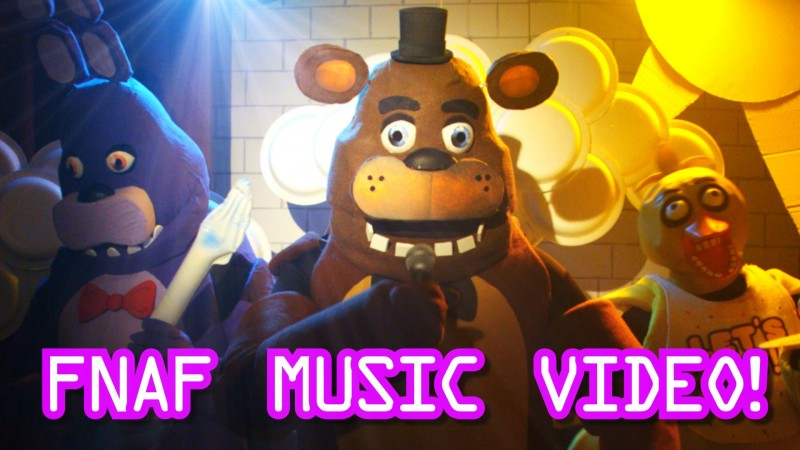five nights at freddys music video