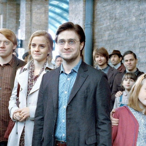 Today James Sirius Potter goes to Hogwarts