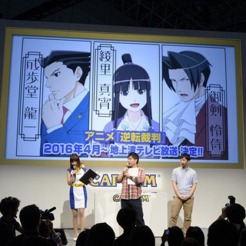 Ace Attorney anime series coming April 2016