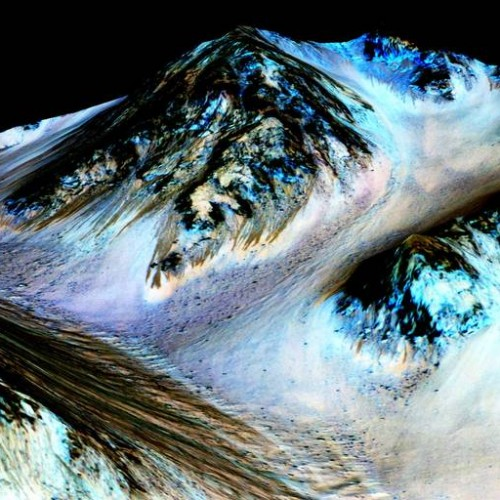 Mars: NASA finds current signs of liquid water