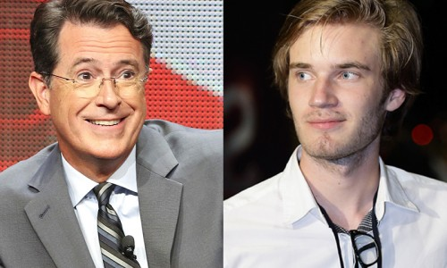 PewDiePie to appear on Late Night with Stephen Colbert