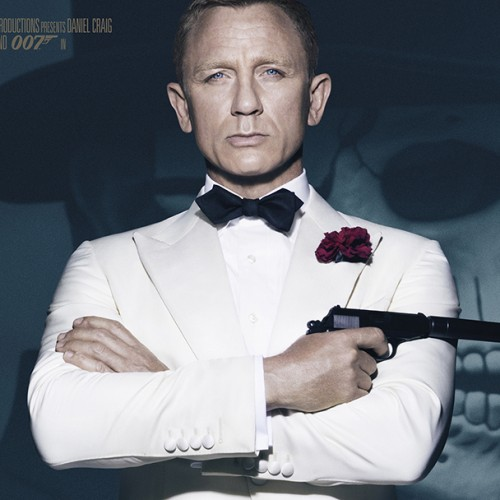 New SPECTRE poster features a sharply dressed Daniel Craig as James Bond