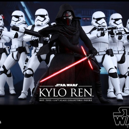Star Wars: The Force Awakens' Kylo Ren and First Order Stormtroopers Hot Toys revealed