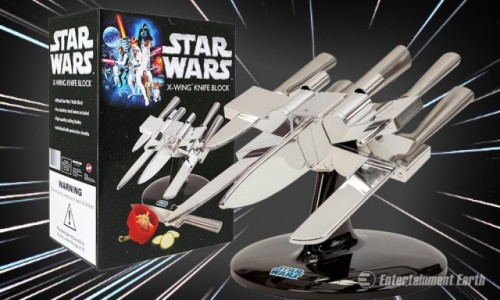 Entertainment Earth's Star Wars knife set looks sharp, literally