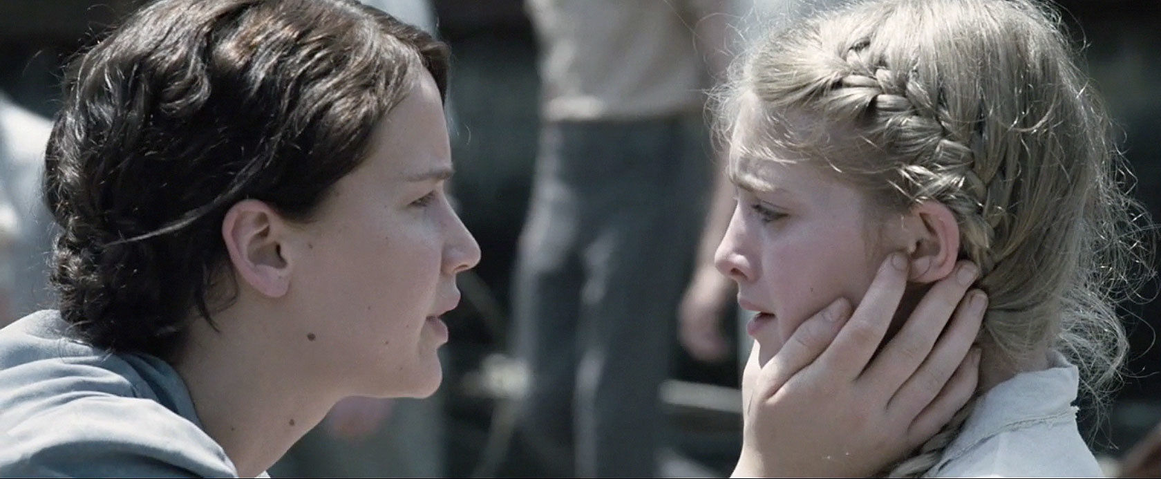 prim and katniss relationship