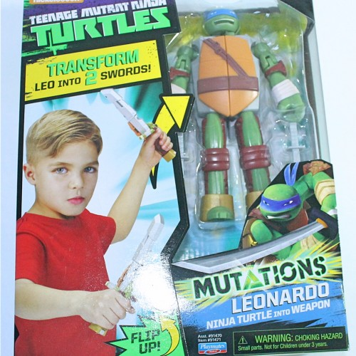Fight the Shredder with Playmates' TMNT Leonardo toys