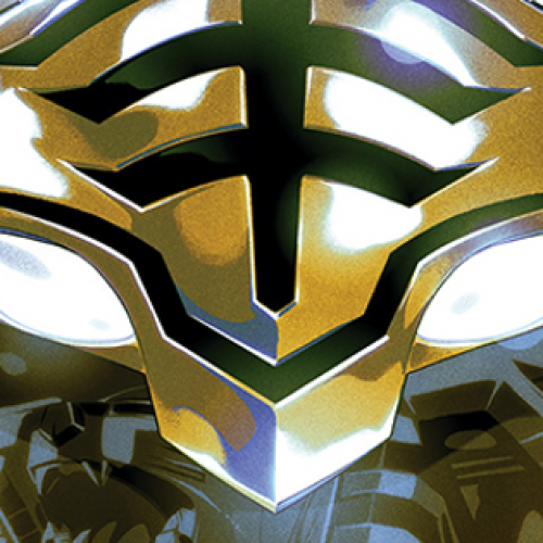 Booms! Mighty Morphin Power Ranger Comic debuting in January