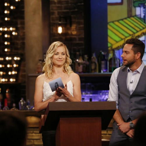 This week's Geeks Who Drink features Dominic Monaghan, Rob Kazinsky and Yvonne Strahovski