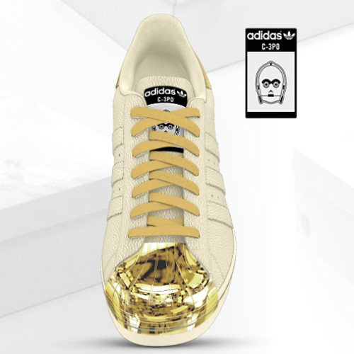 The Force is strong with customizable Star Wars sneakers from Adidas