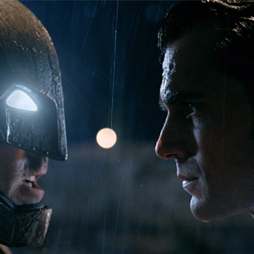 Batman and Superman face off in new Batman v Superman: Dawn of Justice poster