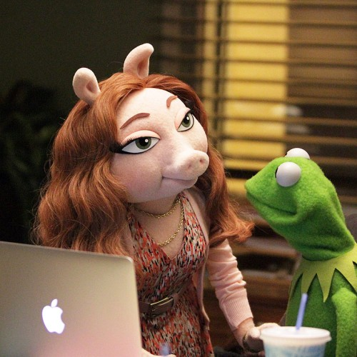 'Critics' express outrage about Kermit's new girlfriendbecause why not?