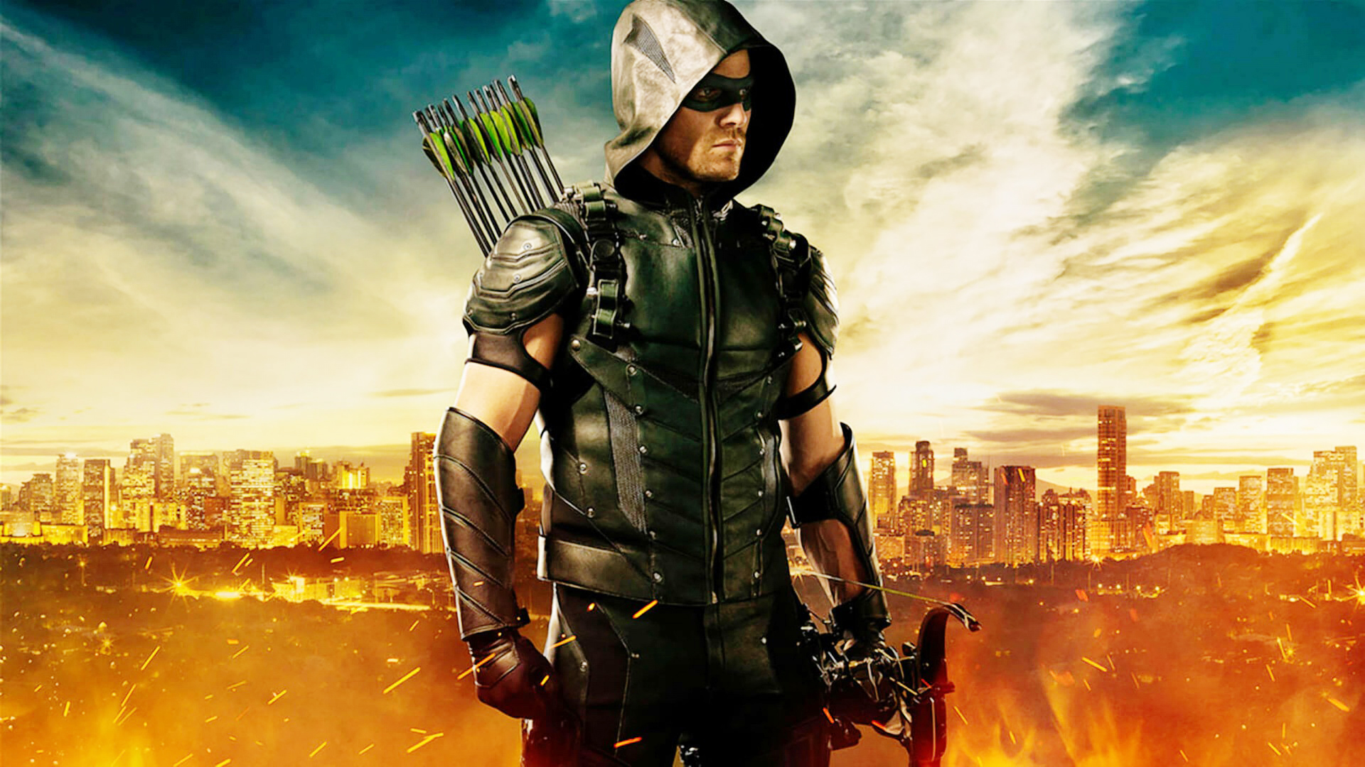 Green arrow cw wallpaper