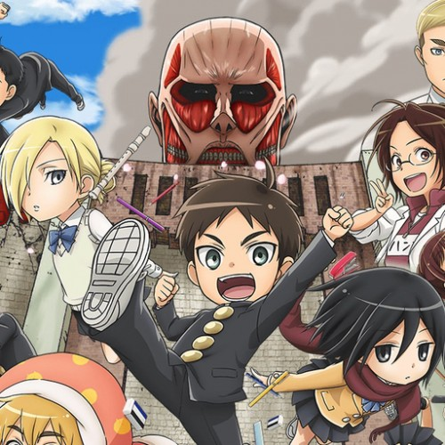 Attack on Titan school spinoff now available