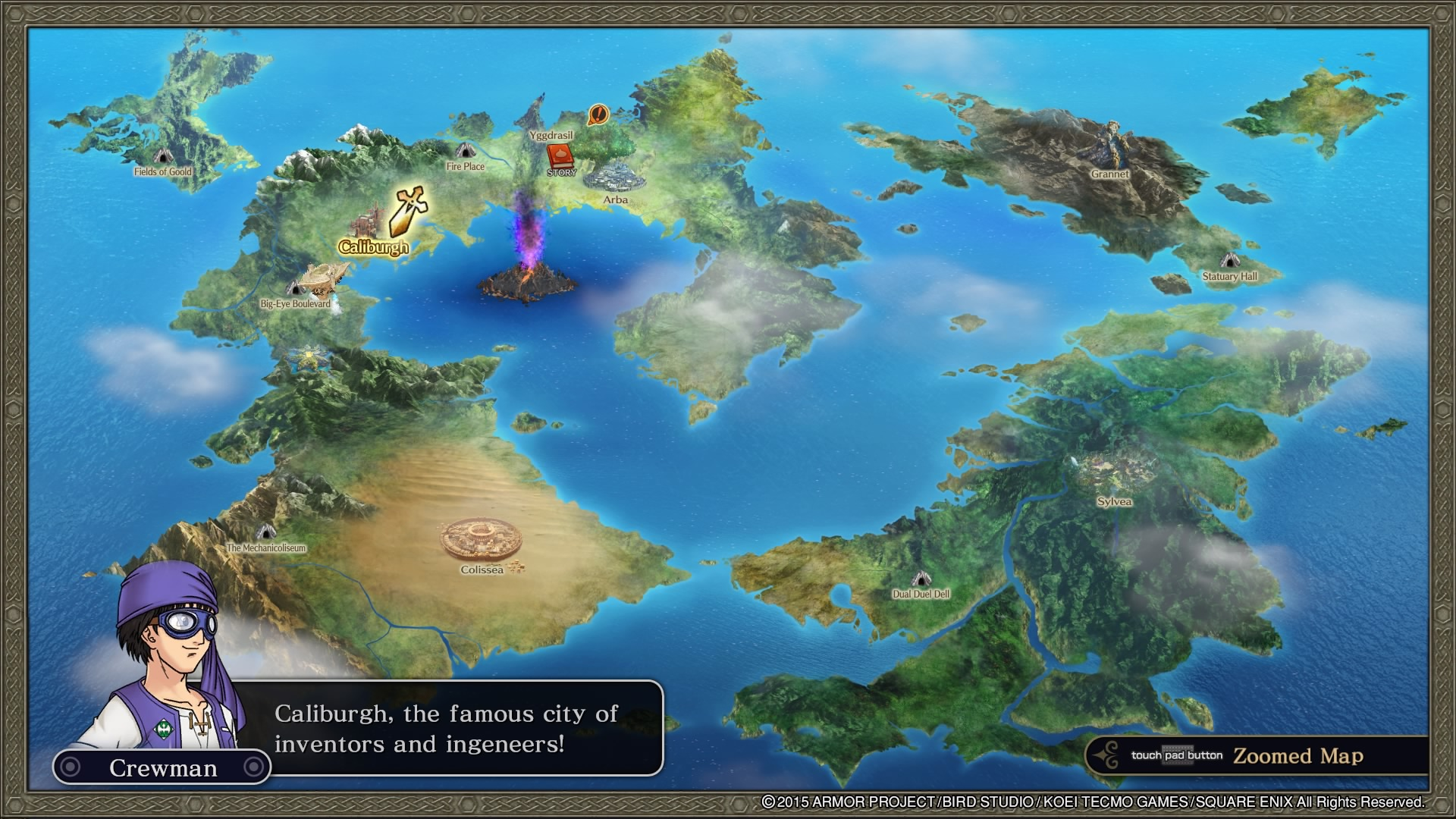 Dragon Quest Heroes: The World Tree's Woe and the Blight