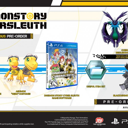 Digimon Story: Cyber Sleuth coming February 2