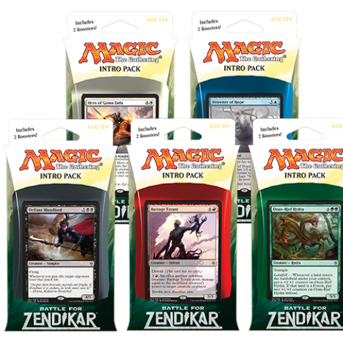 Power Ranking the Battle for Zendikar Intro Packs