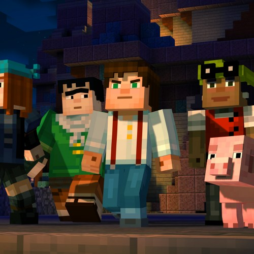 Minecraft: Story Mode trailer premieres featuring Patton Oswalt
