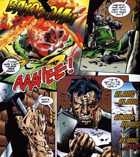 Punisher Kills Doom