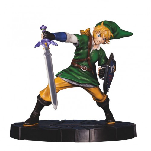 GameStop exclusive Legend of Zelda: Skyward Sword statues listed online