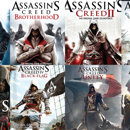 Giveaway: Assassin's Creed series CD albums