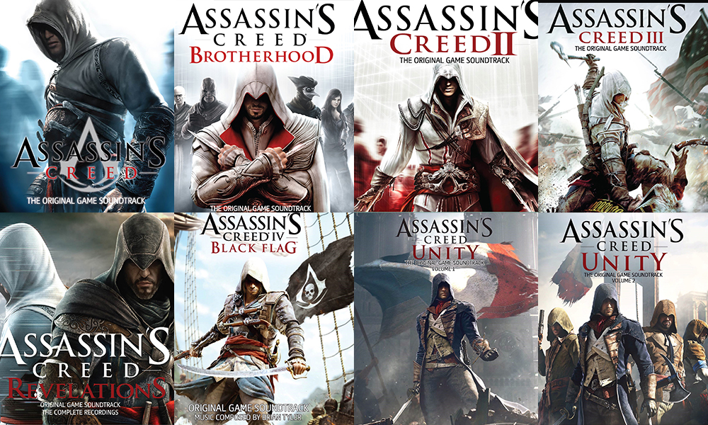 Giveaway: Assassin's Creed series CD albums - Nerd Reactor