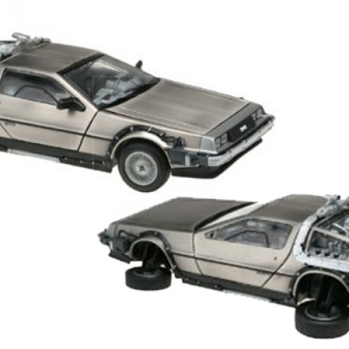 Giveaway: Back to the Future II model car