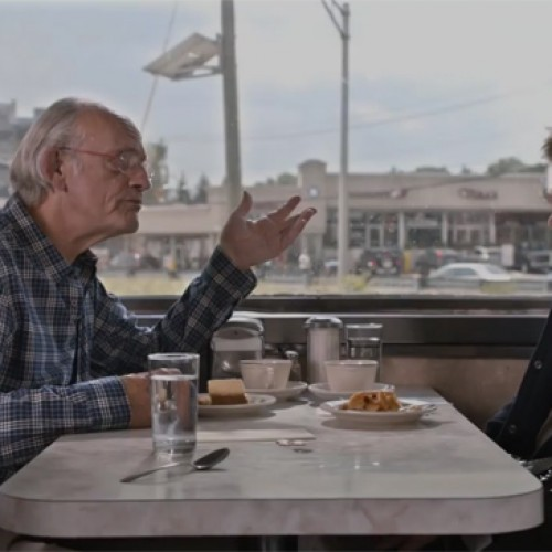 Michael J. Fox and Christopher Lloyd reunite to see the 'Future'
