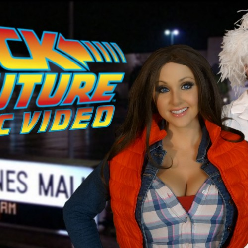 Back to the Future parody music video visits actual locations from the film