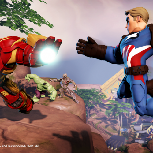 Disney Infinity's Marvel Battlegrounds coming March 2016