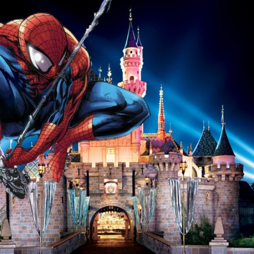 Spider-Man is coming to Disneyland this November