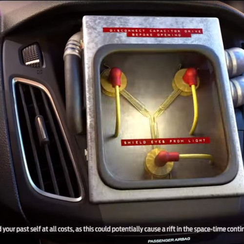 Ford makes time traveling possible with Flux Capacitors installed in new cars