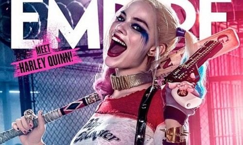 Empire Magazine releases covers of Harley Quinn and Deadshot!