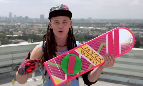 Back to the Future 30th: Now the 'real' Hoverboard can be yours!