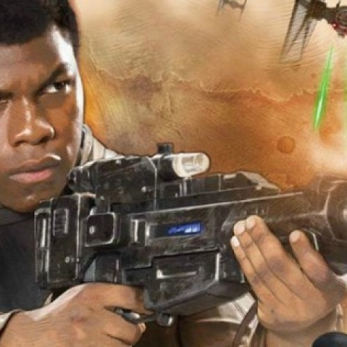 John Boyega impersonates Star Wars: The Force Awakens cast and J.J. Abrams