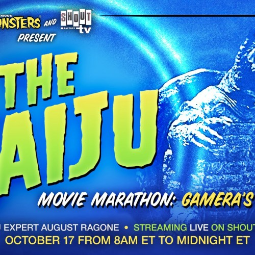 Famous Monsters and Shout! Factory TV present FREE 16-hour Gamera marathon