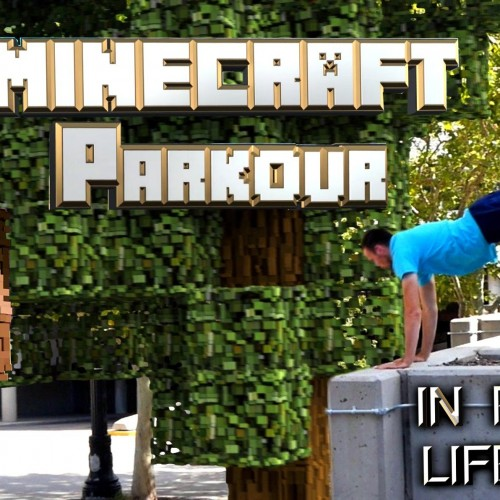 Parkour in the Minecraft world (video)
