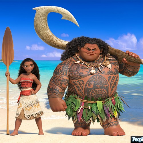 New Disney's Moana images, plus introducing Auli'i Cravalho
