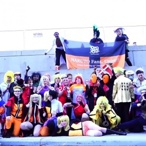 Naruto cosplayers invade New York Comic Con