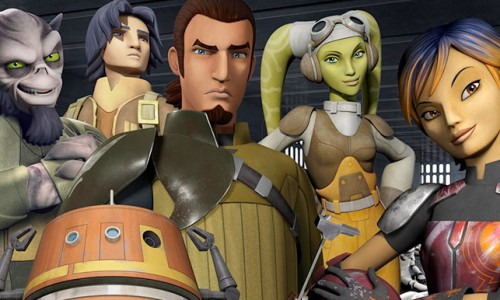 Star Wars Rebels 'Wings of the Master' clip