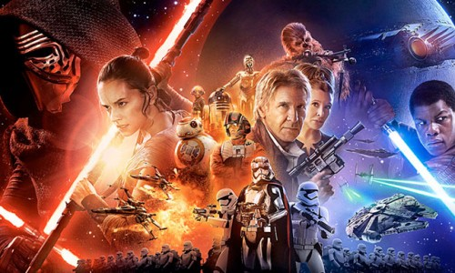 John Boyega and Chewbacca get no love in Chinese Star Wars: The Force Awakens poster