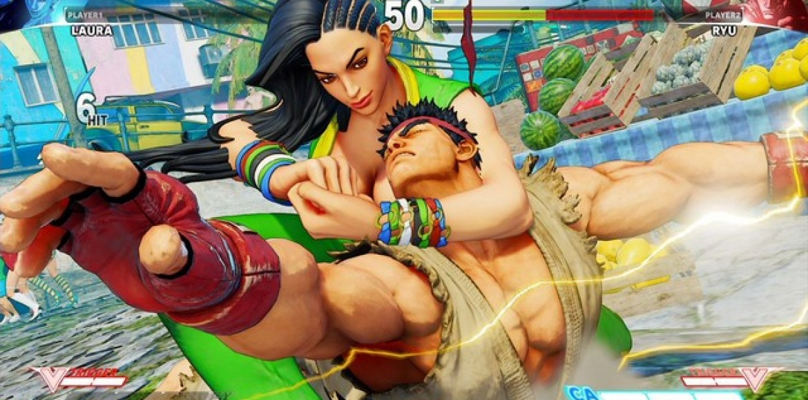 Street Fighter V's Brazilian Jiu Jitsu fighter, Laura, officially revealed in new trailer!