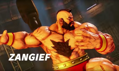 The Red Cyclone, Zangief, enters Street Fighter V