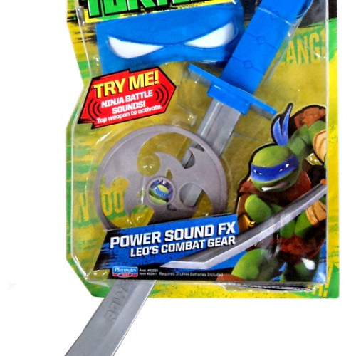 Teenage Mutant Ninja Turtles – Power Sound FX Leo's Combat Gear Review