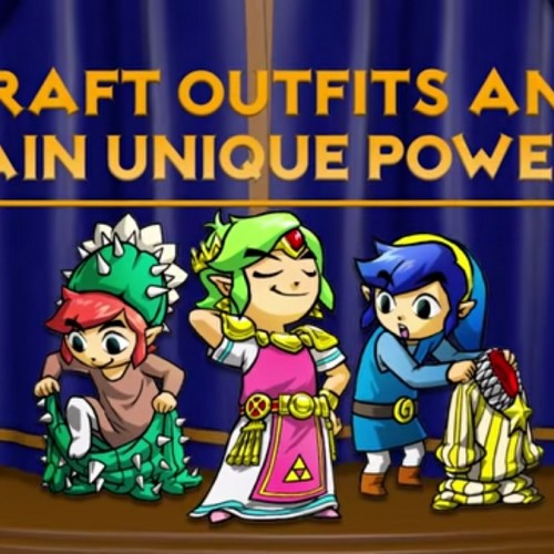 Trailer for The Legend of Zelda: Tri Force Heroes reveals costumes with abilities